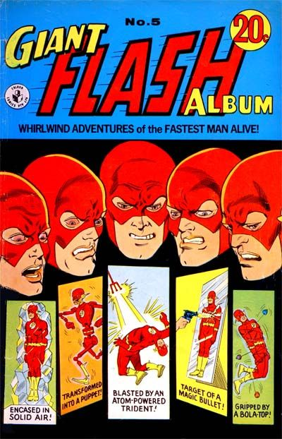 Cover for Giant Flash Album (K. G. Murray, 1965 ? series) #5