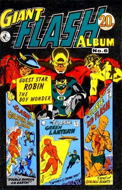 Cover for Giant Flash Album (K. G. Murray, 1965 ? series) #6