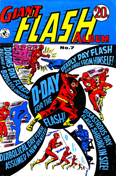 Cover for Giant Flash Album (K. G. Murray, 1965 ? series) #7
