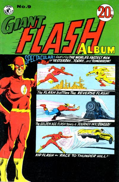 Cover for Giant Flash Album (K. G. Murray, 1965 ? series) #9