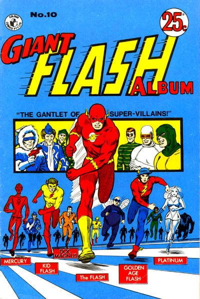 Cover for Giant Flash Album (K. G. Murray, 1965 ? series) #10