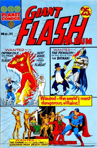 Cover for Giant Flash Album (K. G. Murray, 1965 ? series) #11