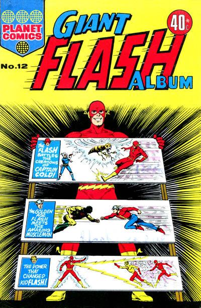 Cover for Giant Flash Album (K. G. Murray, 1965 ? series) #12