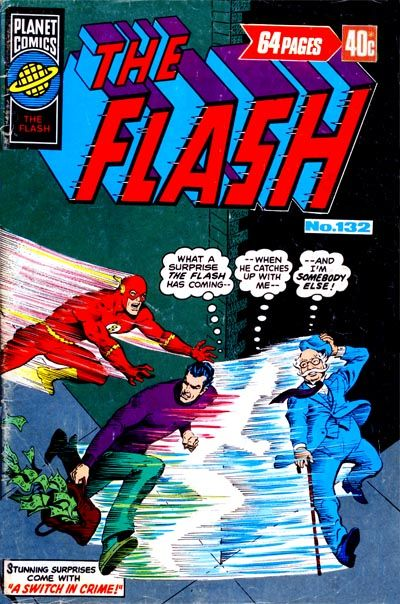 Cover for The Flash (K. G. Murray, 1975 ? series) #132
