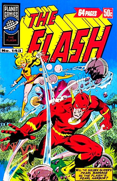 Cover for The Flash (K. G. Murray, 1975 ? series) #143