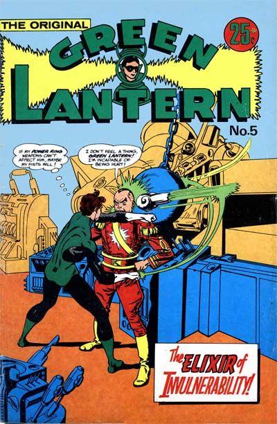 Cover for The Original Green Lantern (K. G. Murray, 1974 series) #5