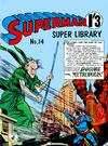 Cover for Superman Super Library (K. G. Murray, 1964 series) #14