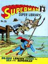 Cover for Superman Super Library (K. G. Murray, 1964 series) #16