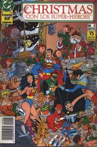 Cover Thumbnail for Christmas con los superhéroes (Zinco, 1989 series) #2