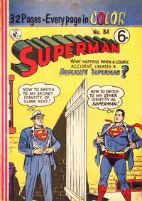 Cover Thumbnail for Superman (K. G. Murray, 1950 series) #84