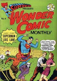 Cover Thumbnail for Superman Presents Wonder Comic Monthly (K. G. Murray, 1965 ? series) #4