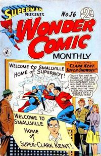 Cover Thumbnail for Superman Presents Wonder Comic Monthly (K. G. Murray, 1965 ? series) #16