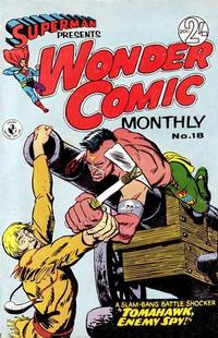 Cover Thumbnail for Superman Presents Wonder Comic Monthly (K. G. Murray, 1965 ? series) #18