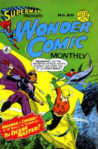 Cover Thumbnail for Superman Presents Wonder Comic Monthly (K. G. Murray, 1965 ? series) #20