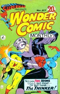 Cover Thumbnail for Superman Presents Wonder Comic Monthly (K. G. Murray, 1965 ? series) #27