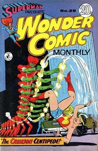 Cover Thumbnail for Superman Presents Wonder Comic Monthly (K. G. Murray, 1965 ? series) #28