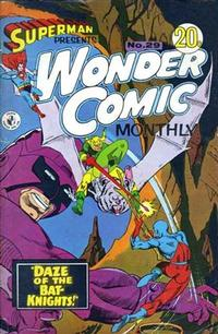 Cover Thumbnail for Superman Presents Wonder Comic Monthly (K. G. Murray, 1965 ? series) #29