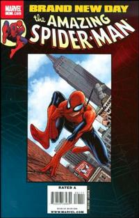Cover Thumbnail for Spider-Man: Brand New Day (Marvel, 2008 series) #1