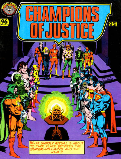Cover for Champions of Justice (K. G. Murray, 1982 series) #[nn]