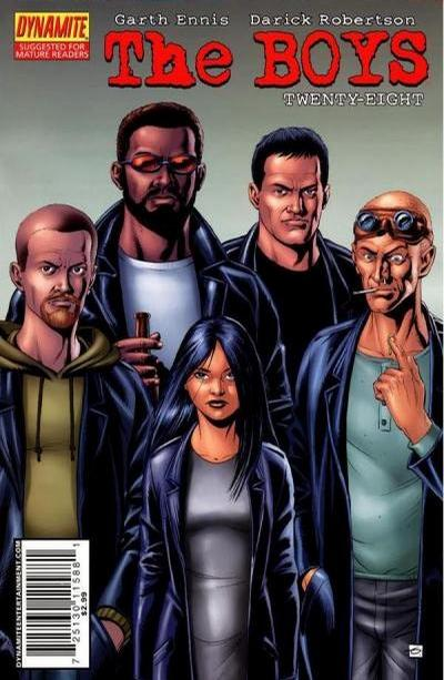 Cover for The Boys (Dynamite Entertainment, 2007 series) #28 [Cover B]
