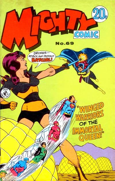Cover for Mighty Comic (K. G. Murray, 1960 series) #69