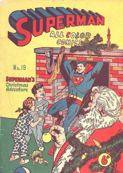 Cover for Superman (K. G. Murray, 1947 series) #19