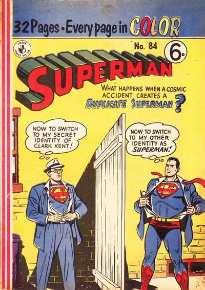 Cover for Superman (K. G. Murray, 1950 series) #84