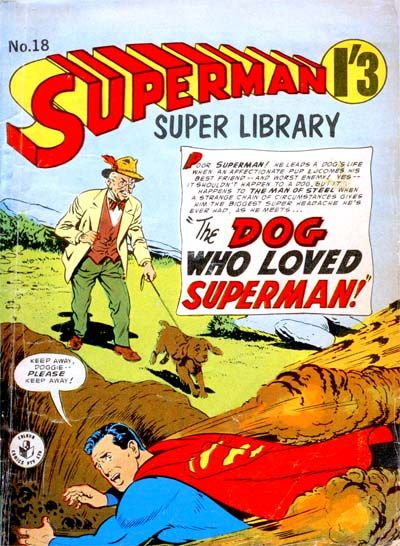 Cover for Superman Super Library (K. G. Murray, 1964 series) #18