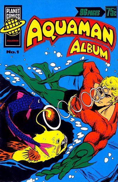 Cover for Aquaman Album (K. G. Murray, 1978 series) #1