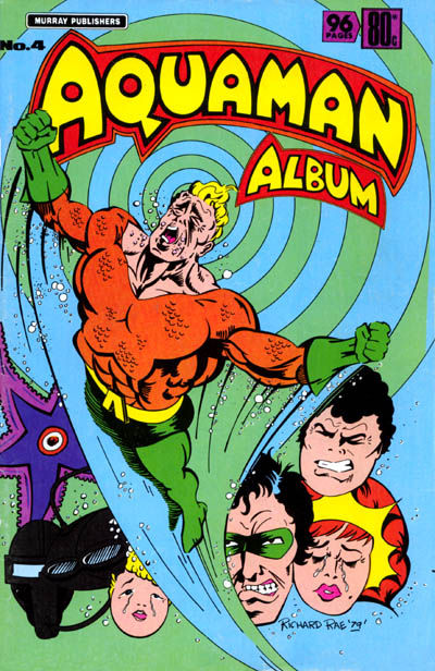 Cover for Aquaman Album (K. G. Murray, 1978 series) #4