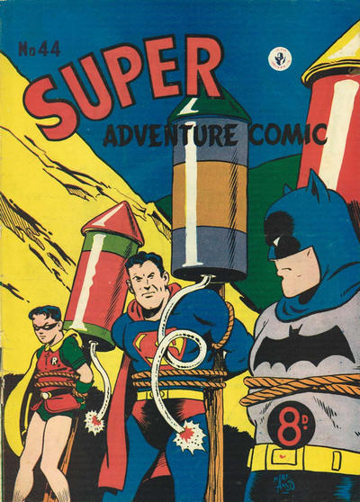 Cover for Super Adventure Comic (K. G. Murray, 1950 series) #44