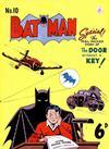 Cover for Batman (K. G. Murray, 1950 series) #10