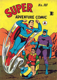 Cover Thumbnail for Super Adventure Comic (K. G. Murray, 1950 series) #101