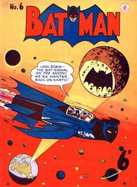 Cover Thumbnail for Batman (K. G. Murray, 1950 series) #6