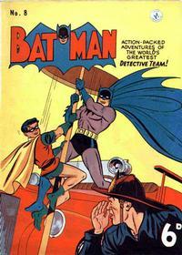 Cover Thumbnail for Batman (K. G. Murray, 1950 series) #8