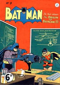 Cover Thumbnail for Batman (K. G. Murray, 1950 series) #9