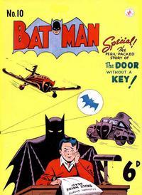 Cover Thumbnail for Batman (K. G. Murray, 1950 series) #10