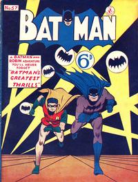 Cover Thumbnail for Batman (K. G. Murray, 1950 series) #57