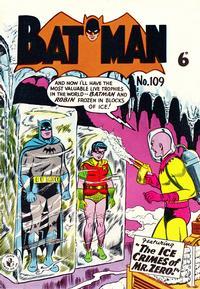 Cover Thumbnail for Batman (K. G. Murray, 1950 series) #109