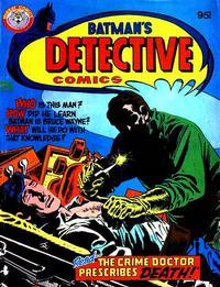 Cover Thumbnail for Batman's Detective Comics (K. G. Murray, 1981 ? series)