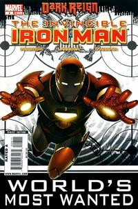 Cover Thumbnail for Invincible Iron Man (Marvel, 2008 series) #8 [Standard Cover]