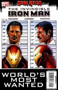 Cover Thumbnail for Invincible Iron Man (Marvel, 2008 series) #9 [First Printing]