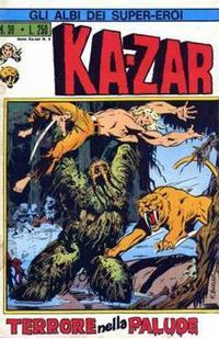 Cover Thumbnail for Gli Albi dei Super-Eroi (Editoriale Corno, 1973 series) #39