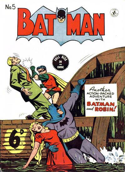 Cover for Batman (K. G. Murray, 1950 series) #5