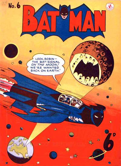 Cover for Batman (K. G. Murray, 1950 series) #6