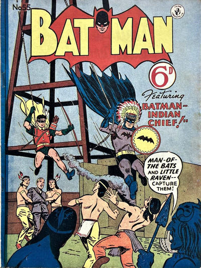 Cover for Batman (K. G. Murray, 1950 series) #55