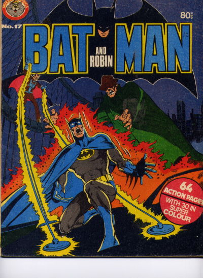 Cover for Batman and Robin (K. G. Murray, 1976 series) #17