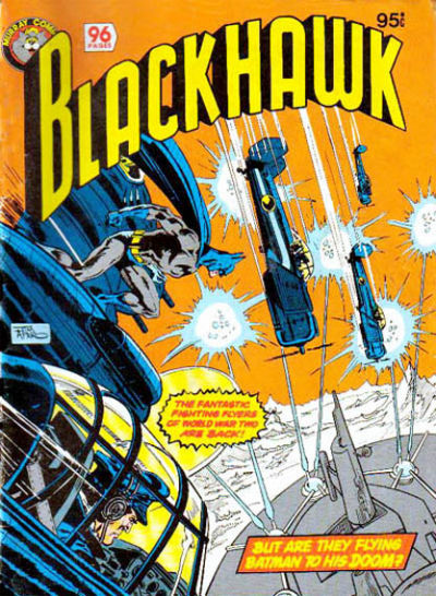 Cover for Blackhawk (K. G. Murray, 1982 series) #[nn]