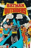 Cover for Batman y los Outsiders (Zinco, 1986 series) #1