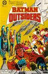 Cover for Batman y los Outsiders (Zinco, 1986 series) #2